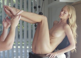 Nancy A loves having her pussy pumped fixed