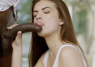 Stunning bae Zoe Wood enjoys steamy interracial fuck