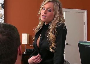 Ramon Nomar is slutty as hell and can't wait any longer give fuck attractive Darcy Tylers throat with his throbbing tool
