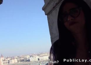 Gaffer Spanish partisan copulates open-air