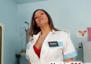 Busty nurse Stella Fox priceless fat tits