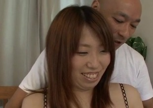 Ai Ootomo Asian hottie screwed hard and made to potation