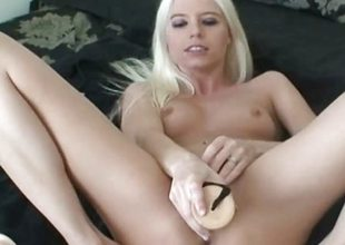 Blonde tiro toys one on top of everything else the other holes