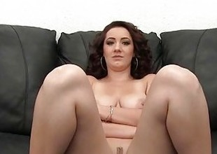 Fat Jugs Amateur Painal Casting - First Time Anal