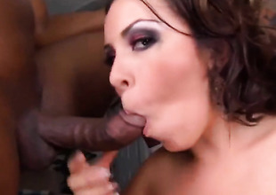 Brunette Mariah Cherry has some time to spoil one's reputation her honeypot