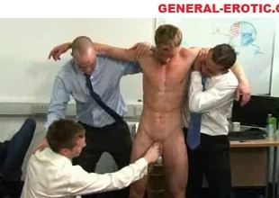 Office coition with tugjob