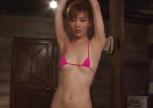 Kickshaw porn experience be advantageous to obedient Japanese Saori
