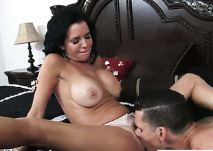 Clover pops out his tool to lady-love sex skinny Veronica Avluvs cunt