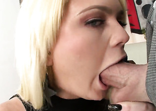 Breathtakingly gorgeous stunner Alexis Ford puts her soft lips on rock solid cherish hoodlum