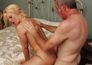Sexy hooker Anikka Albrite hot fucking relating to the outcast west