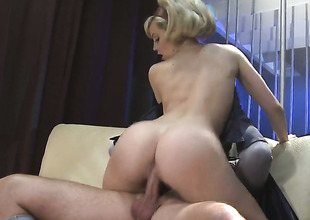 Alexis Texas makes her making love fantasies a reality with guys hard ram schlong almost hands