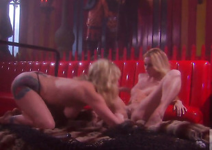 Adrianna Nicole and Kelly Wells and have a fun lesbian sexual intercourse too much to stop