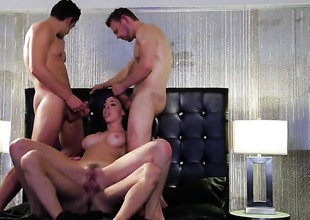 Loving babe Chanel Preston gets back area humped to obliteration