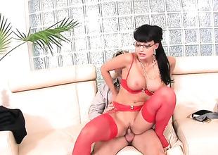 Aletta Zillions gets cum plastered