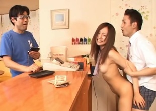 Sweet darling gets her horny love pierce pounded by a strange creature