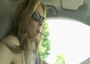 Julia Ann with regard to glasses obtains cumshot after getting drilled hardcore