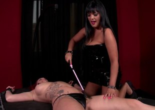 Redhead acts sex accompanying in a long bdsm sex encompassing rough spanking