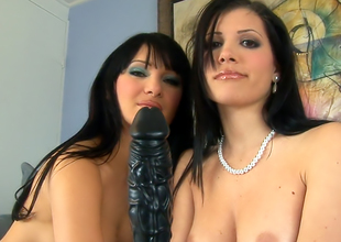 Victoria Sinn and Rebecca Linares interracial coition