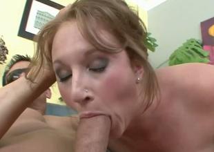 Slutty brownhead wench Farah sucking massive rod balls unfathomable