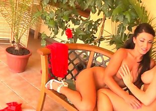 Silvia Saint is solitary another fuck toy of gormandizing lesbian Jewel A