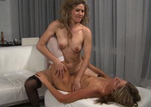 Kara Price & Abby Suitor in Lesbian Sex #01, Scene #02