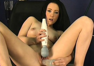 That babe goes hither for surgery and receives toyed and machine fucked as an alternative