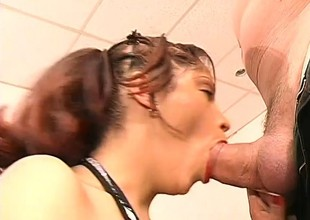 3 horny studs take turns first of all a young slut's amazing natural personally wallet