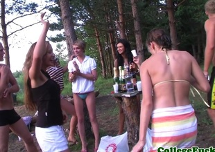 Teens Dulsineya and Pearl of great price outdoors