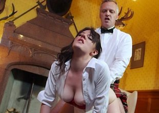 Euro student gets fucked thither the ass