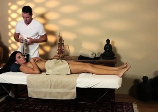 Most assuredly tricky rub down apartment of horny masseur