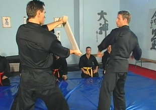 Anthony Okamoto, Janos Volt, and Chris Russel are in karate miscellany winning beginning of this 22 minute prepare sex scene.  A room agile of jocks with spectacular muscles practice their fist strikes and receive instructions exposed to course for the first  5 minutes, t