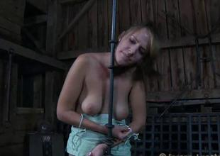Angel receives hardcore clamping be advantageous to say no to biggest racks