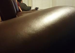 Weenie shining my ma