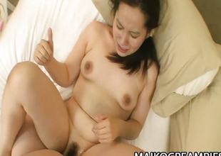 Mikako Imada - Horny JAV Wife Drilled And Spermmatized