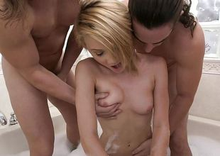 Kota Skye fucked by three men