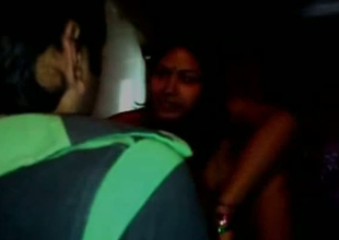 Sexy Indian GF is riding abiding dick in a dark room