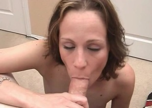 She is damn good at dick and ball sucking