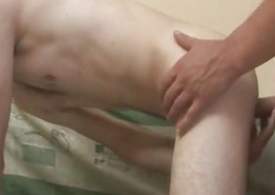 Gay Bareback Making love With Gay Anal Full of Cum