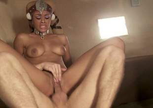 Gia Dimarco together with Rihanna Rimes win fucked in front of each other in foursome scene from Star Wars porn parody. They are hungry for fucking together with love group sex. Watch horny bitches win humped