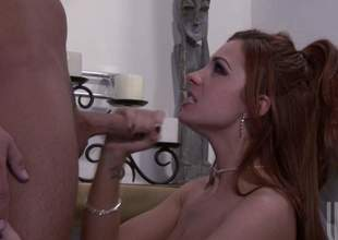 Redhead mollycoddle Kirsten Price is going to street lose one's train of thought big bad ding dong in an obstacle bathroom. She really can not get enough of her husbands pecker. Talk about a nympho wifey