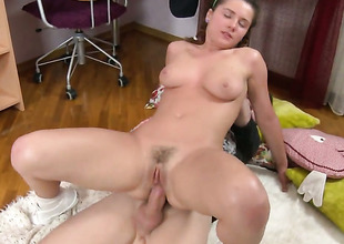 Good looking whore is totally fuckable in a catch ass