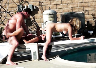 Kimber Kay engulfing perforce aint no edict in oral action with hot blooded guy