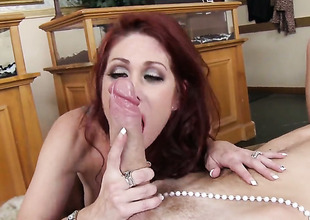 Danny D gets his always hard love wand eaten by before anal enjoyment