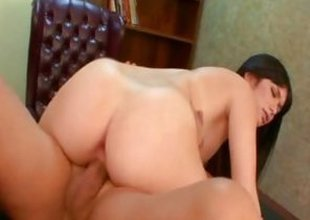 Ashlyn Rae rides her pussy on this hard detect