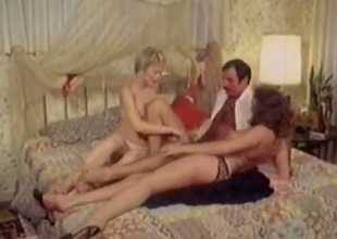 Hot chicks give every other oral sex in 69 position in hot FFM threesome chapter