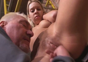 Old fart is no matter what his playful fingers all over good use in this hot sex video