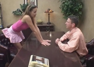 Poppy Morgan gets screwed in a hot blowjob and bourgeoning action