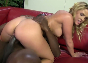 Lovable blonde hoe Lexi Kartel rides bbc and sucks drenching