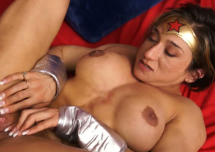 Wonderwoman is valiant and independed but still addicted with learn of
