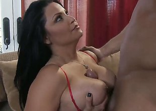Danny Mountain drills dangerously seductive Sophia Lomelis love hole connected with every sex positon